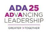 ADA 25 Advancing Leadership Award