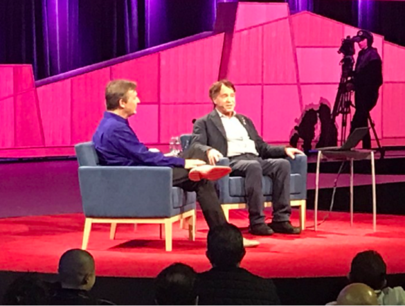 Chris Anderson and Ray Kurzweil AI in Healthcare Series with Michael Ferro, Jr